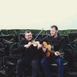 Saltfishforty, music, musicians, creels, Orkney, Scotland, Islands, isles, fishing, fiddle, guitar, portraiture